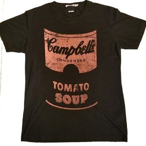 Andy Warhol Pop Art Campbells Tomato Soup Can Tee